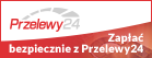 Zapłać bezpiecznie z Przelewy24